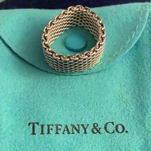 Authentic Tiffany and Co. Somerset ring 10